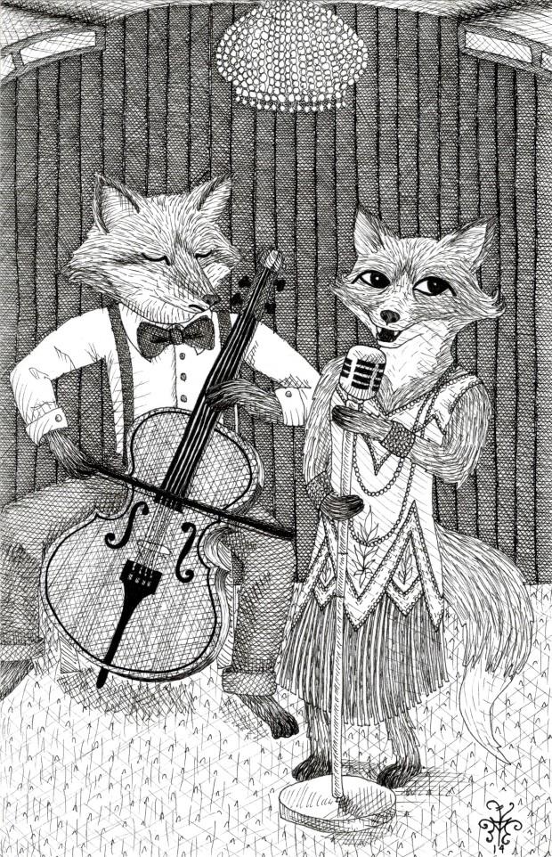 Foxes band Athena Mariah LaRue