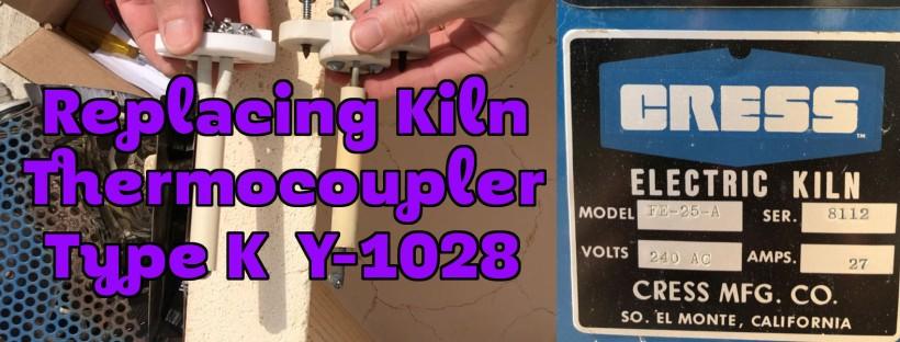 Kiln Thermocouple Type K Cress